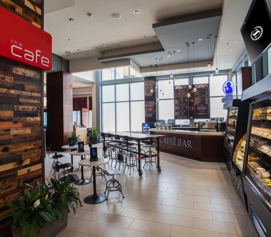 The Café, ubicado en el vestíbulo del hotel Sheraton, es una de las áreas que fueron remodeladas. (Suministrada) (semisquare-x3)