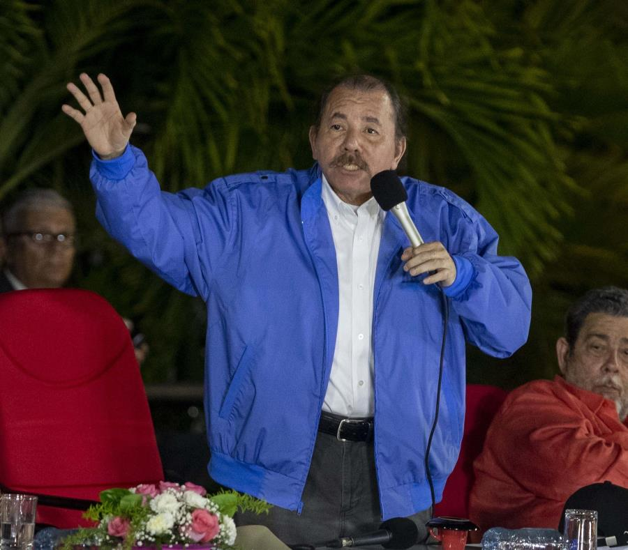 Las manifestaciones contra Daniel Ortega y su esposa, la vicepresidenta Rosario Murillo, se iniciaron el 18 de abril pasado. (EFE / Jorge Torres) (semisquare-x3)