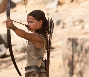 """Tomb Raider"": Llega al cine una verdadera guerrera"
