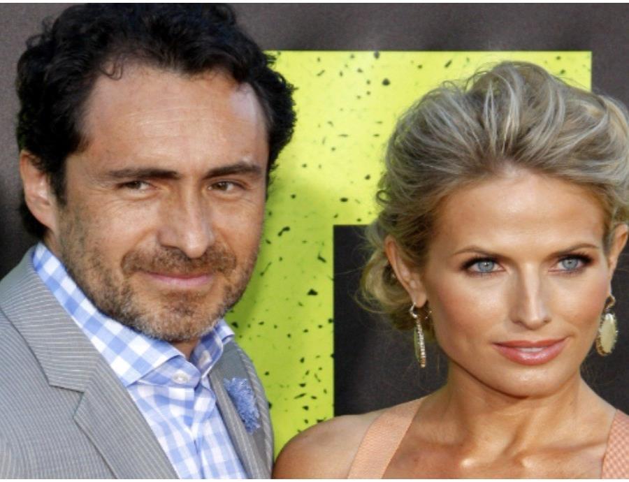 Demián Bichir publica emotivo mensaje a su esposa Stefanie Sherk
