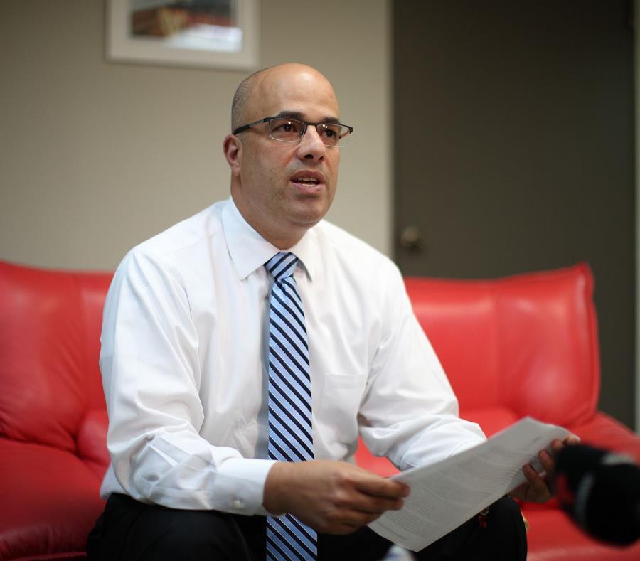 Héctor Ferrer indicó que sostendrán ante la corte que la decisión de la jueza anula las ramas de gobierno de Puerto Rico. (GFR Media) (semisquare-x3)