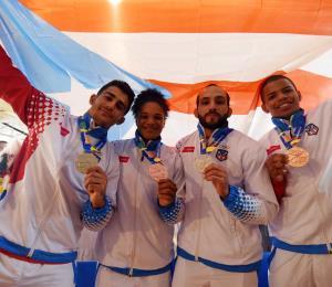El judoca Adrián Gandía busca un espacio para los Panamericanos