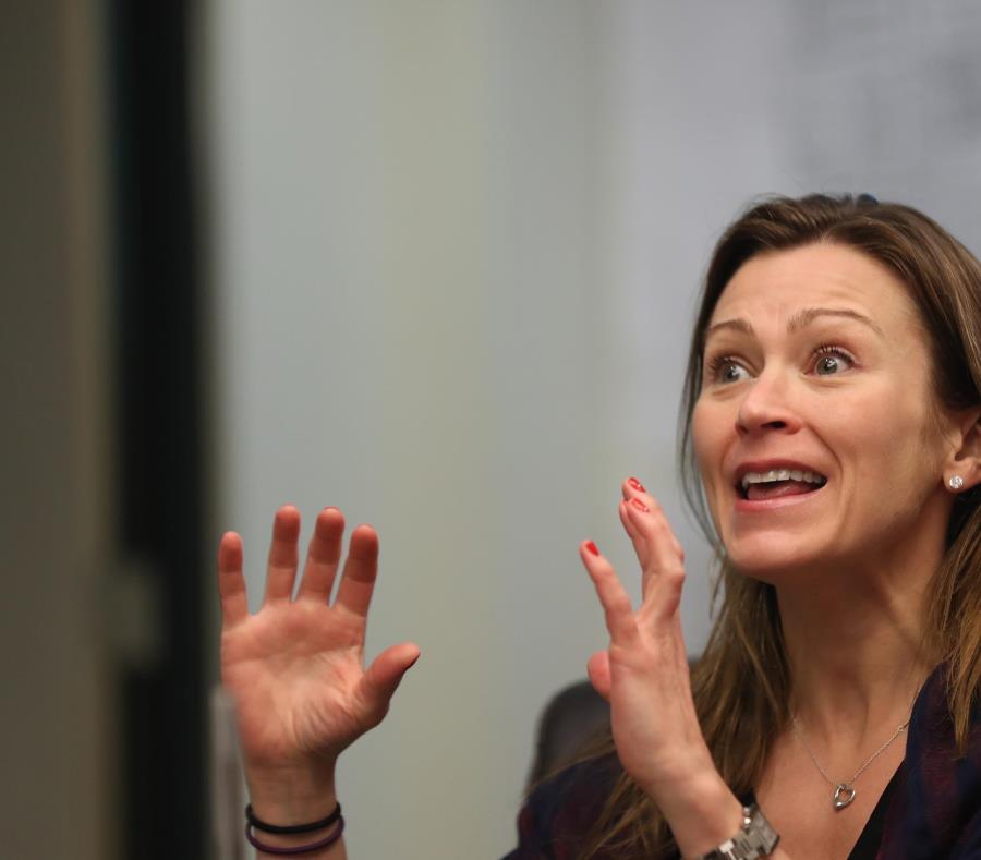 Julia Keleher sostuvo que la Oficina para el Mejoramiento de Escuelas Públicas (OMEP) completó las labores de mantenimiento en el 75% de las 530 escuelas bajo su responsabilidad. (semisquare-x3)