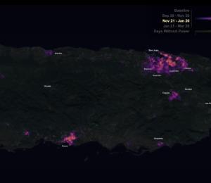 La NASA publica asombrosas imágenes de Puerto Rico después del huracán María