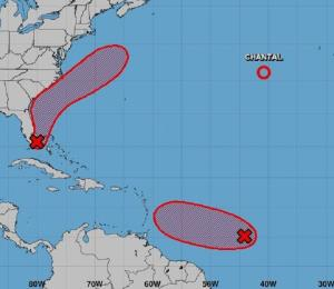 Detectan sistema en el Atlántico que pudiera desarrollarse en ciclón tropical