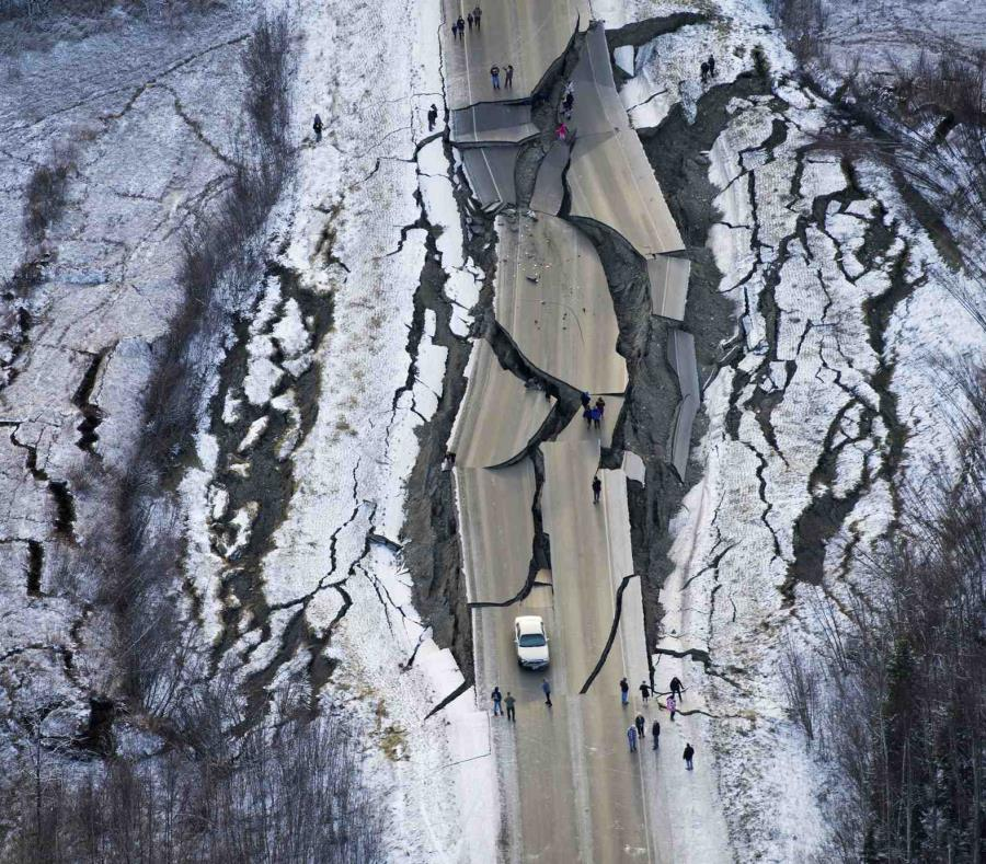 Terremoto de magnitud 7.0 en Alaska generó alerta de tsunami