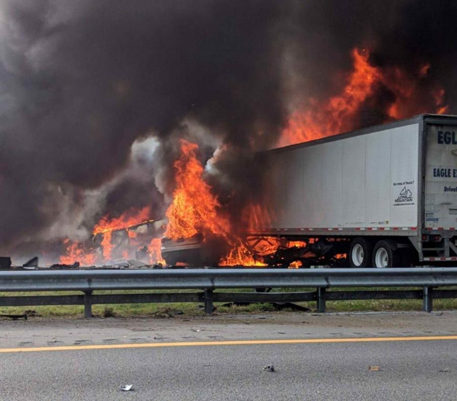 Accidente en Florida deja 6 muertos