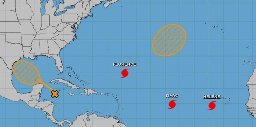Gráfica de la proyección ciclónica trazada por el Centro Nacional de Huracanes. (Captura / NOAA) (horizontal-x3)