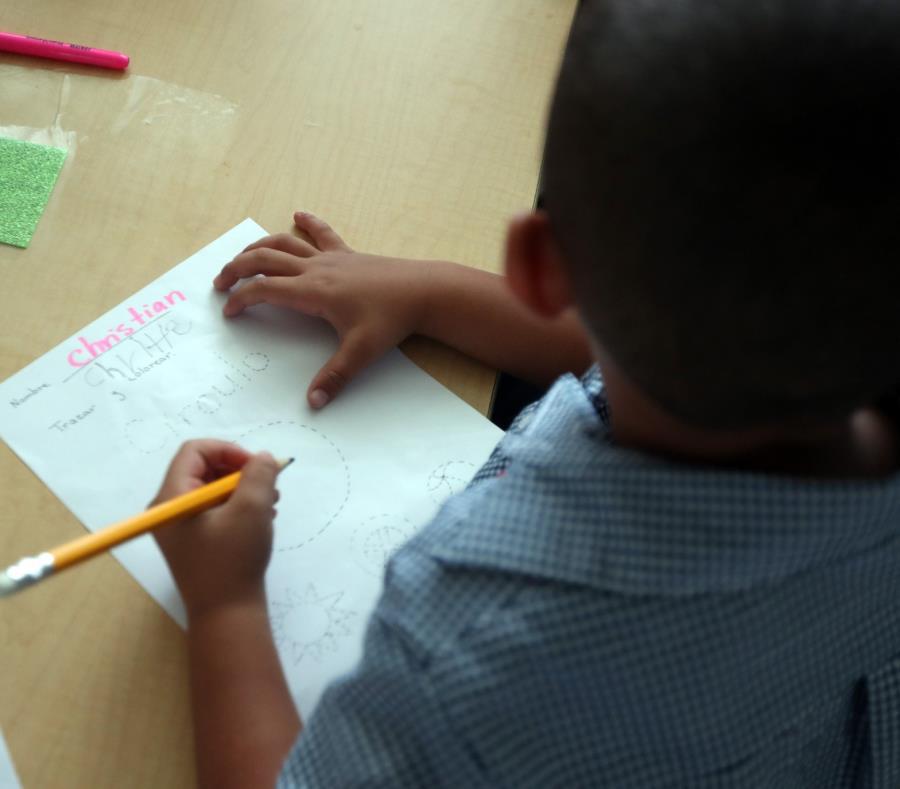 La maestra, cuya identidad no ha sido revelada, enseña el segundo grado. (GFR Media) (semisquare-x3)