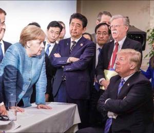Cumbre del G7: una fotografía y par de tweets