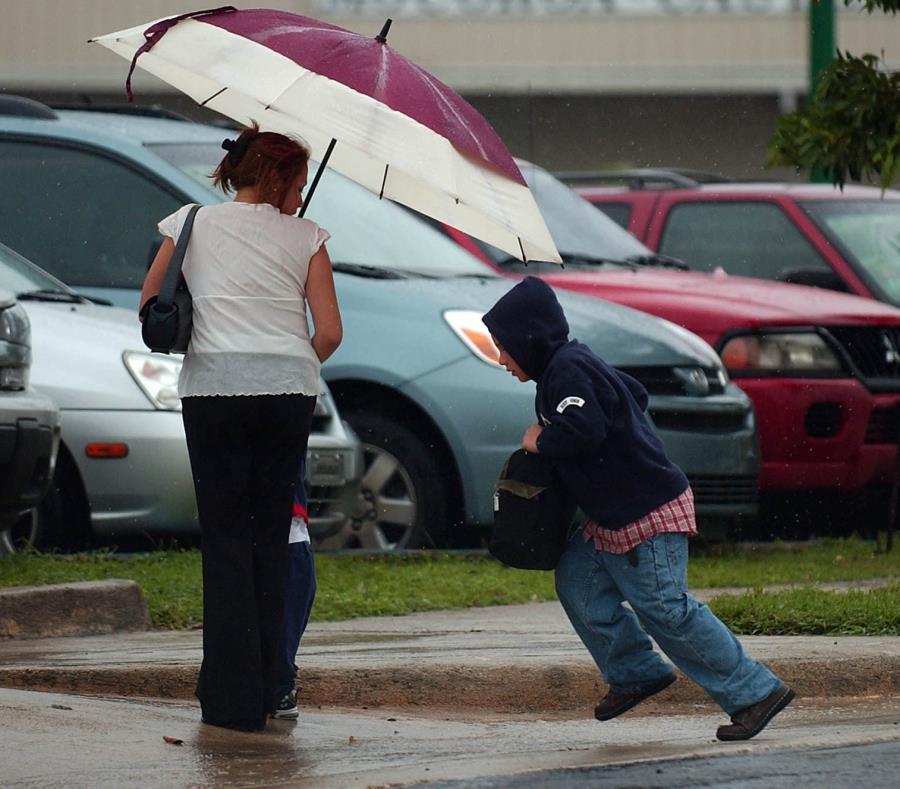 La onda tropical deteriorará las condiciones del tiempo durante la noche del sábado y el domingo. (GFR Media) (semisquare-x3)