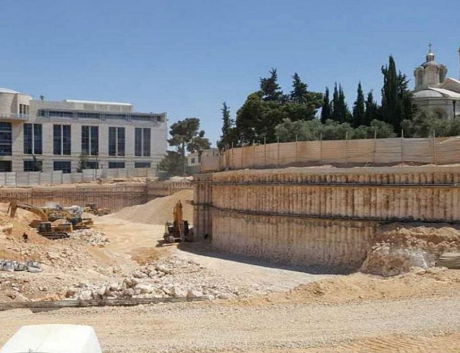 fosa común fue descubierta en la parte trasera de la alcaldía de Jerusalén. (Autoridad de Antigüedades de Israel) (semisquare-x3)