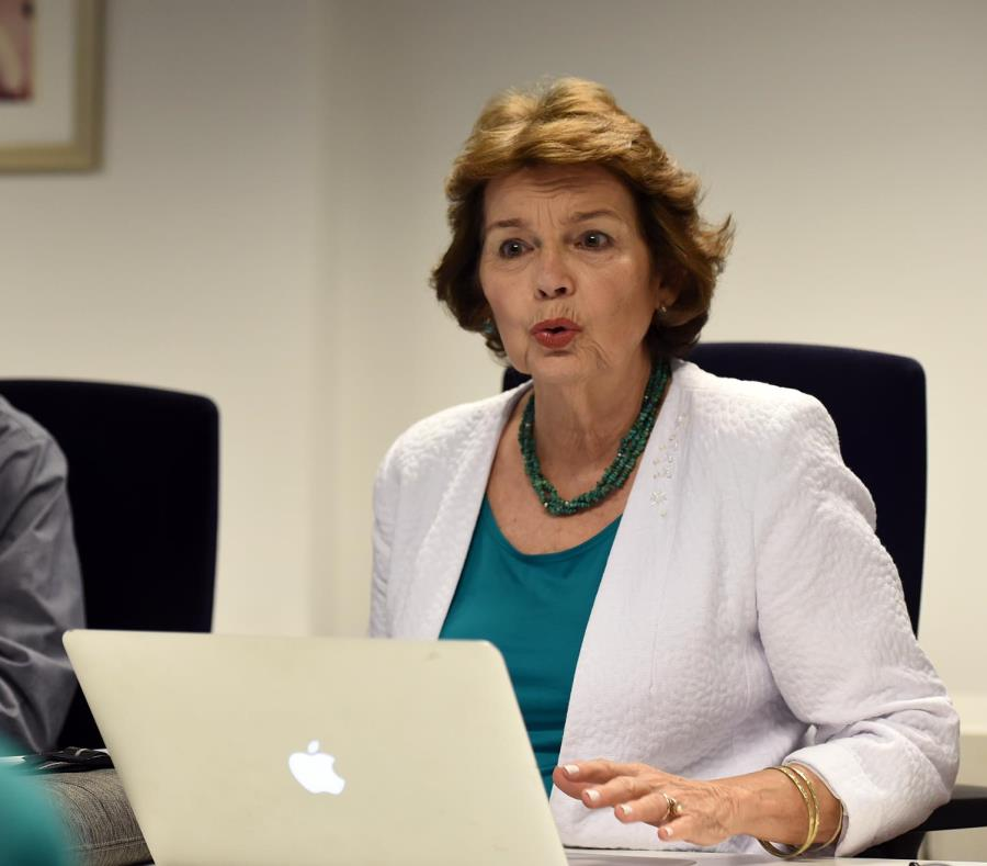 La economista Marcia Rivera fue parte del grupo de investigadores que realizaron el Informe del Índice de Desarrollo Humano. (semisquare-x3)