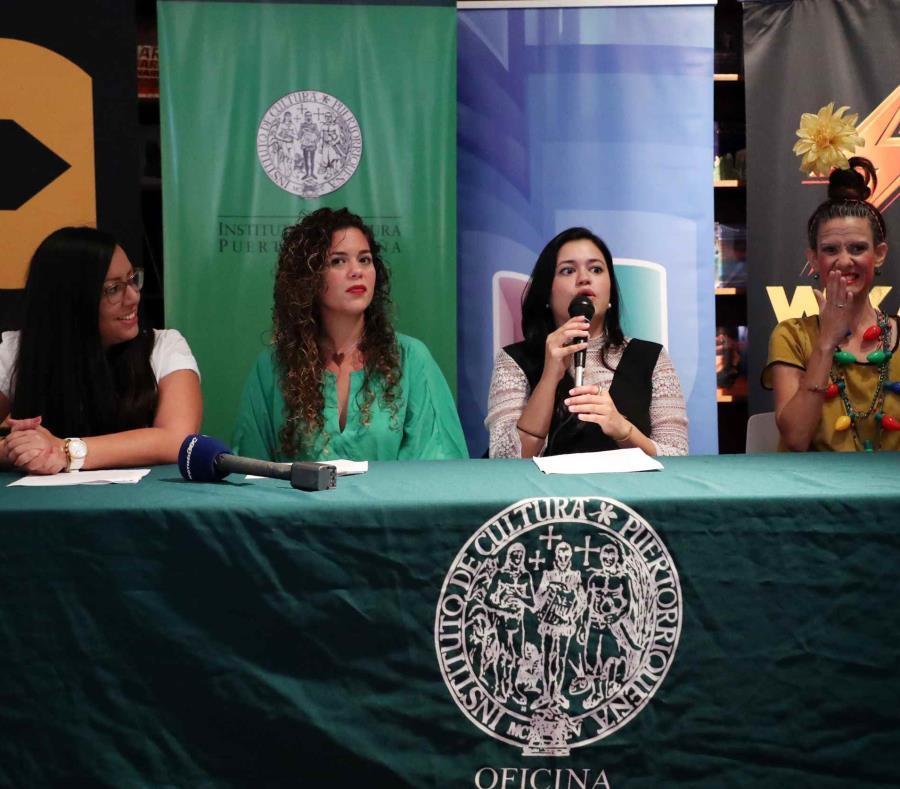 Conferencia de prensa para anunciar los detalles del Fiestón Cultural 2019 de las Fiestas de la Calle San Sebastián. (semisquare-x3)