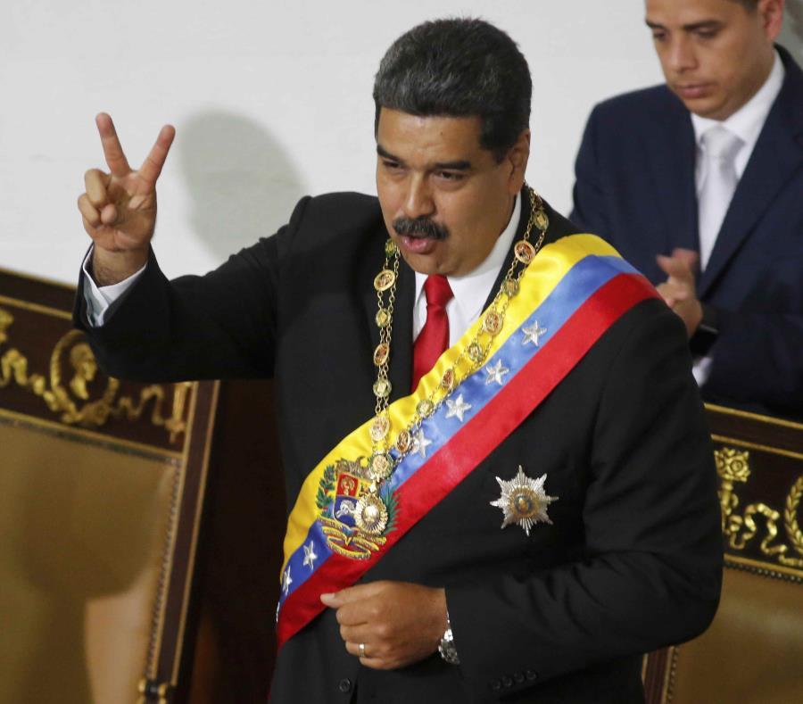 En la foto Nicolás Maduro. (AP) (semisquare-x3)