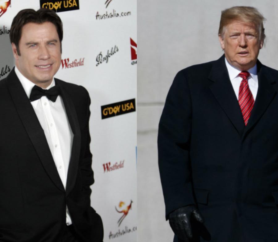 El actor John Travolta y el presidente de EE.UU. se encuentran en la lista de los Premios Razzie. (AP) (semisquare-x3)