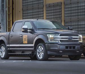 Ford muestra prototipo de camioneta F-150 eléctrica