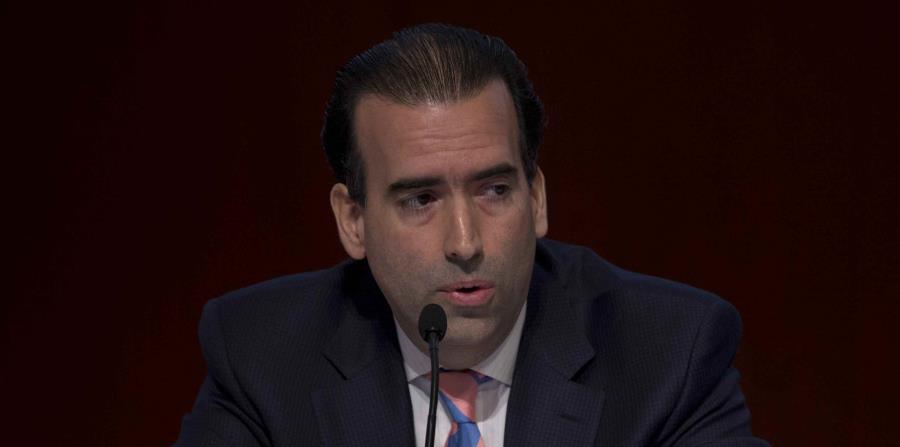 José Carrión III, presidente de la Junta de Supervisión Fiscal. (horizontal-x3)