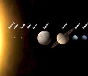 Cinco planetas se pueden observar a simple vista