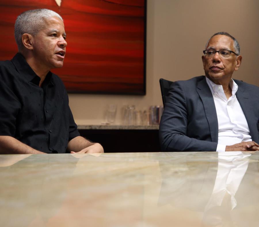 Los editores Marc Lacey y Dean Baquet estuvieron la semana pasada en Puerto Rico (semisquare-x3)