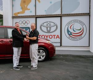 Toyota de Puerto Rico apoya a los atletas del Comité Paralímpico