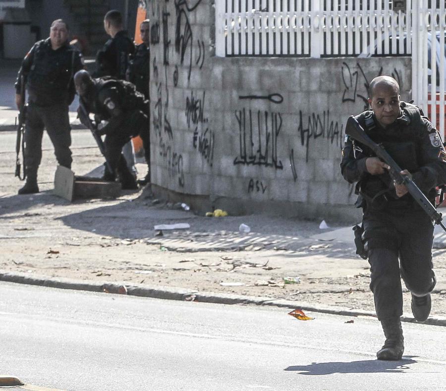 Las diez víctimas eran sospechosas de robo y fallecieron durante un tiroteo con los policías (semisquare-x3)