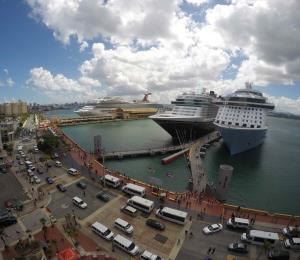 Halagadoras las proyecciones de la industria de cruceros en la isla