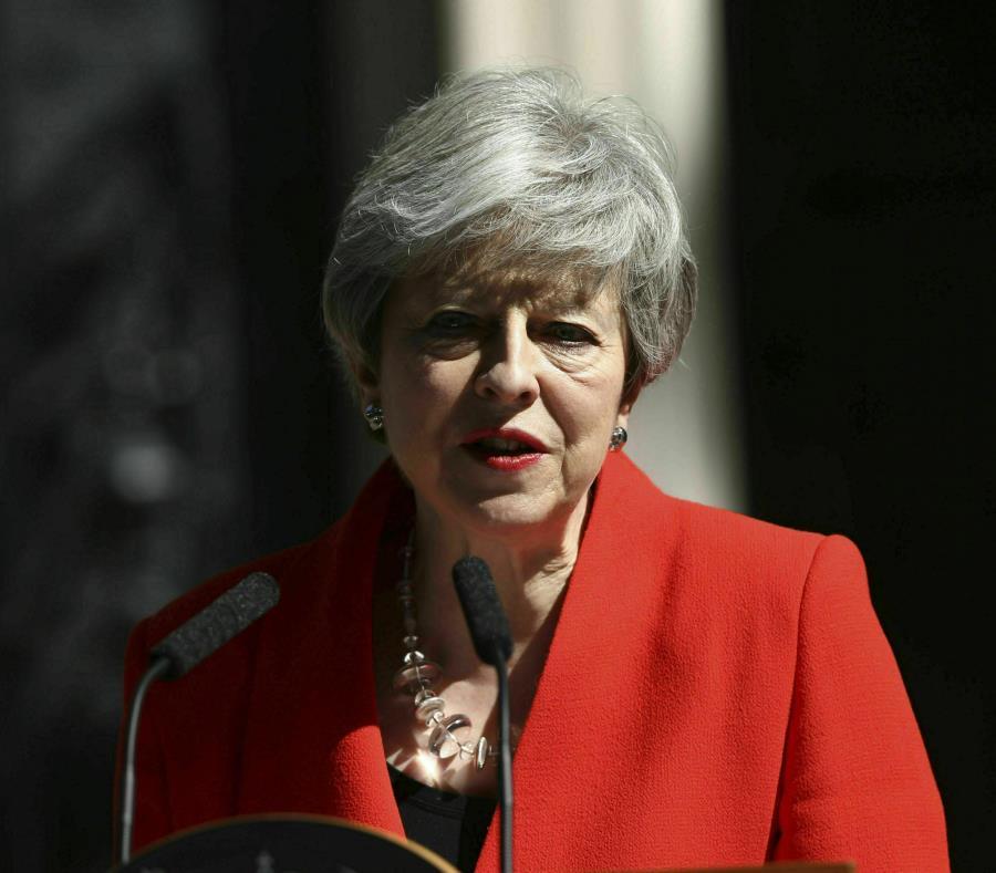 Theresa May también dejará la presidencia del Partido Conservador (semisquare-x3)