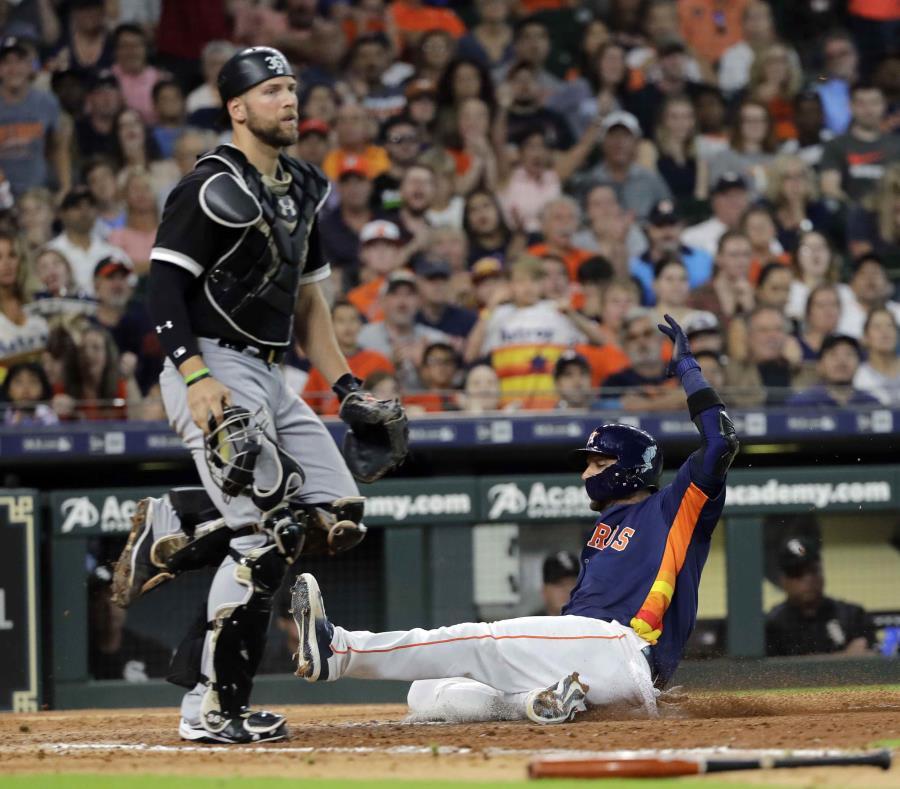 Altuve y Rondón ayudaron a los Astros con jonrón y rescate
