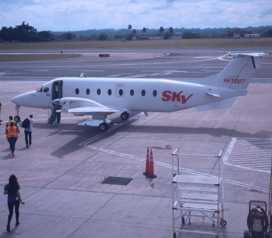 Sky High Aviation viajará entre Aguadilla y el aeropuerto Las Américas, en Santo Domingo, todos los lunes y jueves. (semisquare-x3)