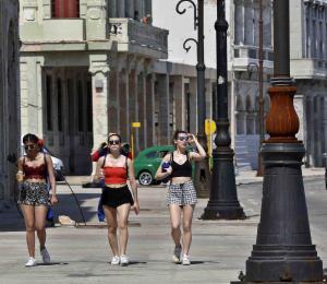 El turismo en Cuba experimenta baja de un 6.6 por ciento