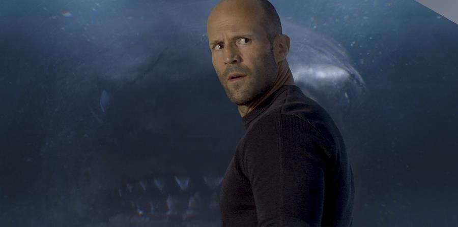Jason Statham en una escena de The Meg. (AP) (horizontal-x3)