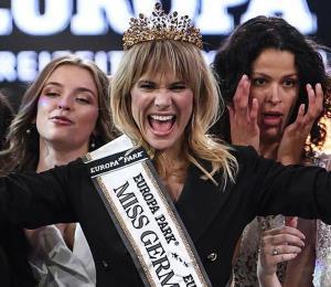 Gana Miss Alemania una mujer de 35 años y con un hijo