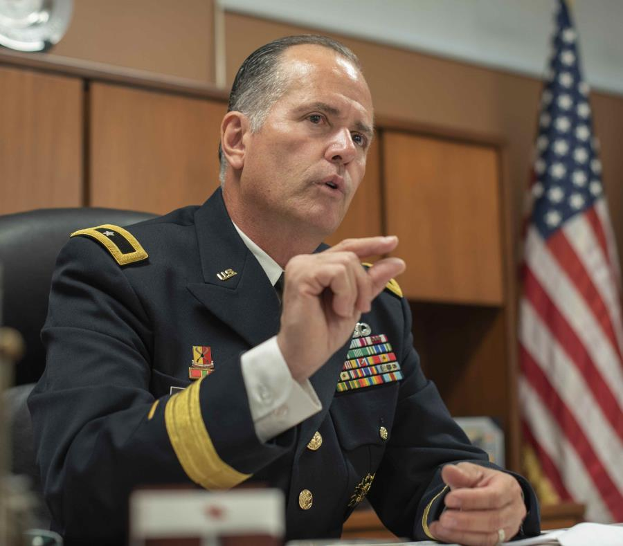 El ayudante general de la GNPR y general de brigada, José Reyes, anunció que los países al que los oficiales irán son Honduras, Costa Rica, El Salvador y Guatemala. (GFR Media) (semisquare-x3)