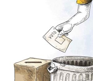 Plebiscito y partidocracia de la mano