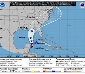 Esperan fuertes lluvias y vientos de tormenta en oriente cubano