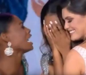Causa sensación la celebración de Miss Nigeria tras victoria de Jamaica en Miss Mundo