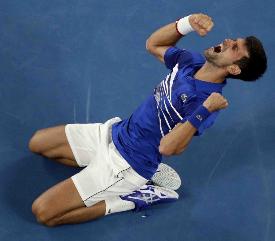 Djokovic obtuvo el tercer Grand Slam consecutivo. (AP) (semisquare-x3)