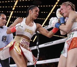 Amanda Serrano demandará al promotor Eddie Hearn por no honrar el contrato de su pelea contra Katie Taylor