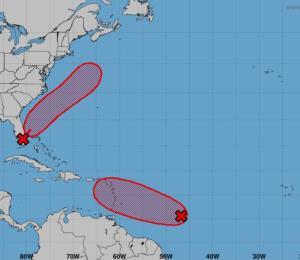 Aumentan las probabilidades de desarrollo de una onda tropical de camino al Caribe