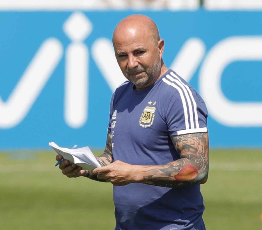El técnico de Argentina  Jorge Sampaoli. (AP) (semisquare-x3)