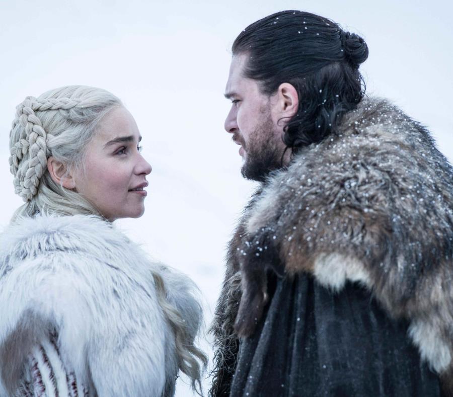 Jon Snow y Daenerys Targaryen. (GFR Media) (semisquare-x3)