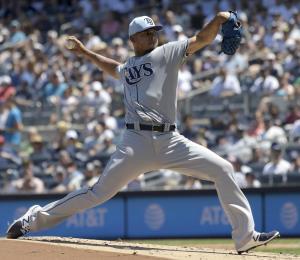 El venezolano Wilmer Font apaga los bates de los Yankees
