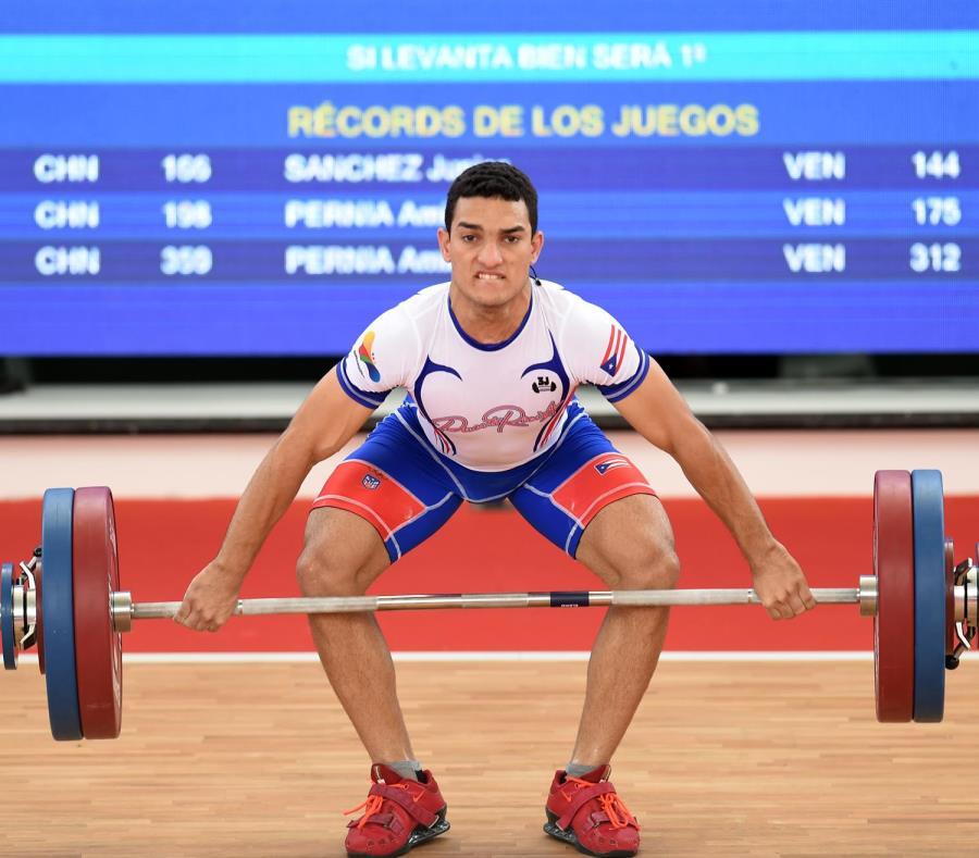 Jorge Sánchez será uno de los pesistas boricuas en el Mundial. (GFR Media) (semisquare-x3)