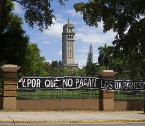 Los estudiantes se echan el peso del País sobre los hombros
