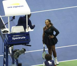 La Federación Internacional de Tenis apoya al juez que sancionó a Serena Williams