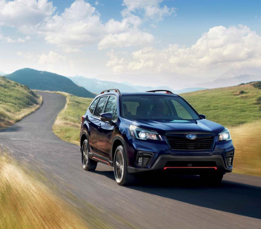 Modelos como el Subaru Forester se ven cada vez con más frecuencia. (semisquare-x3)