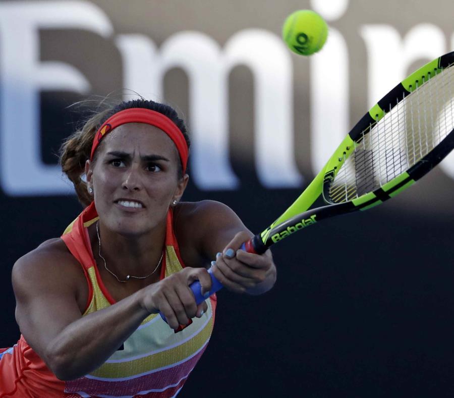 Mónica Puig alcanzó la segunda ronda el año pasado en el Abierto de Australia. (Archivo / AP) (semisquare-x3)