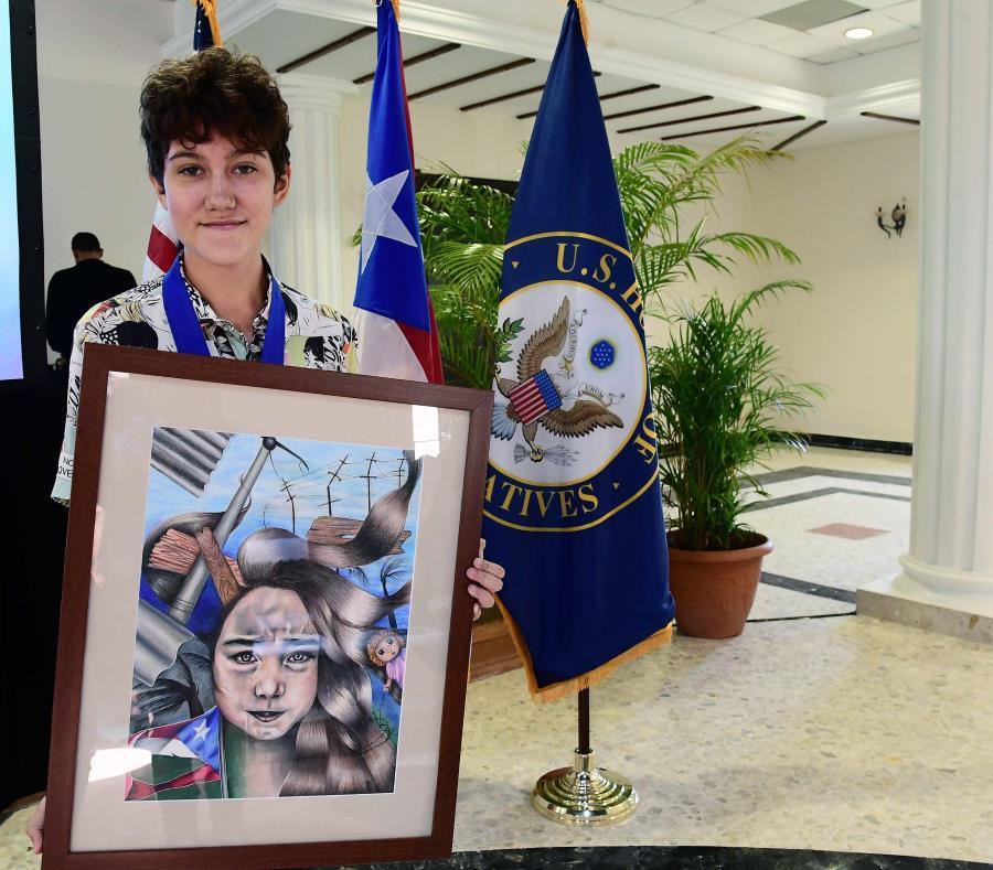 La obra de Amanda Nazario Kercadó está insprada en el paso del huracán María por Puerto Rico. (semisquare-x3)