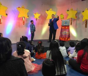 Shabum graba programa televisivo en  Perú y pide ayuda para Puerto Rico